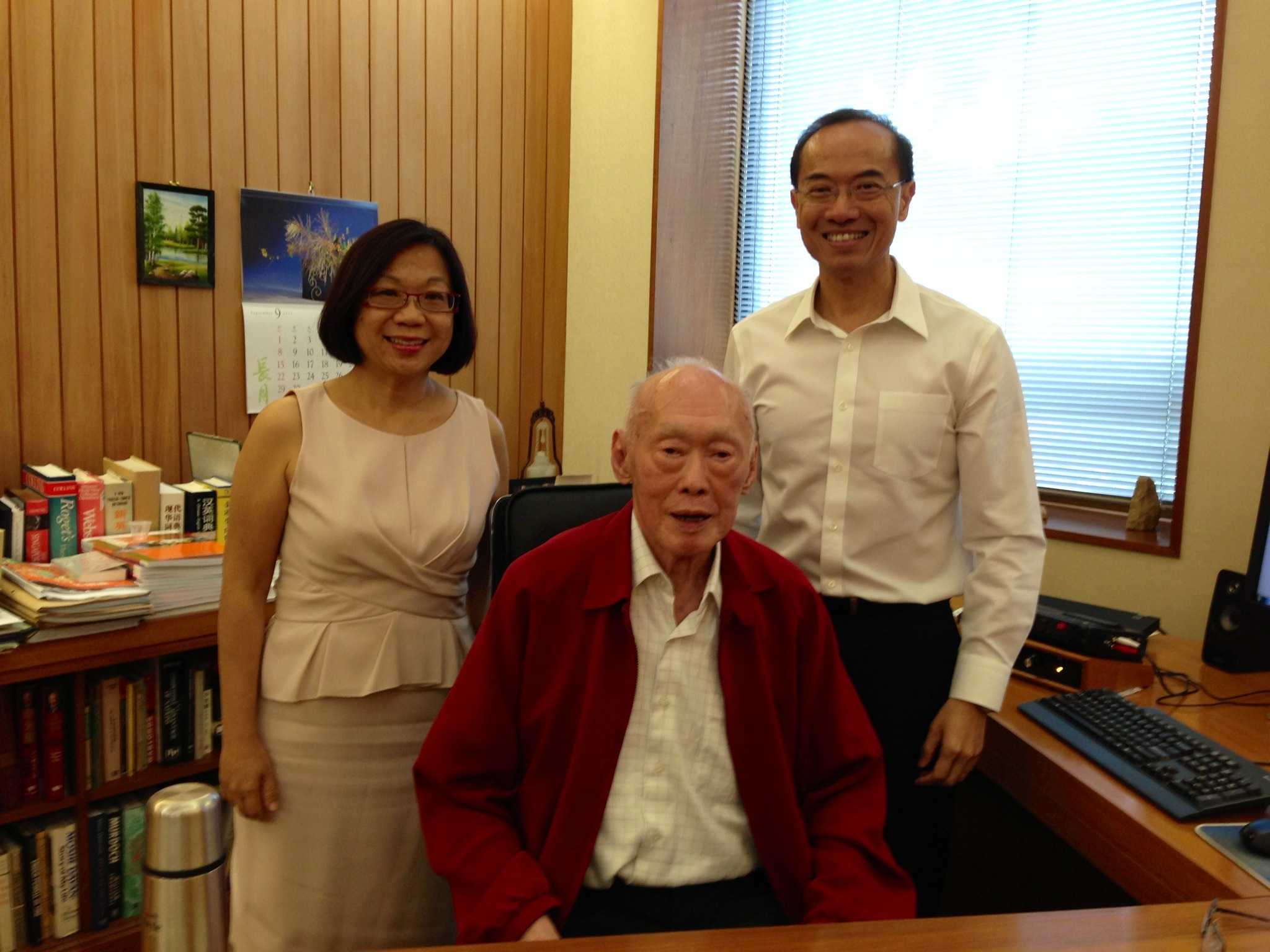 George Yeo and LKY