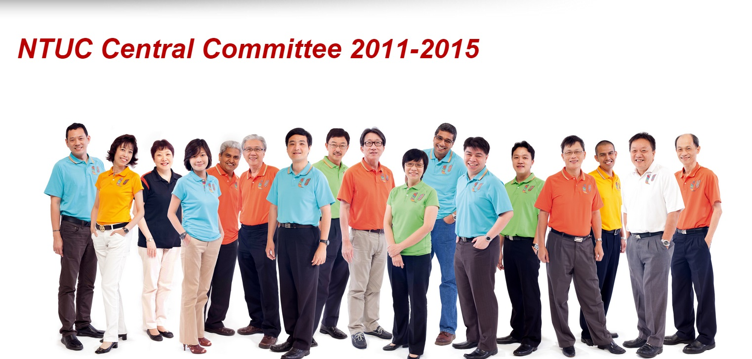 NTUC Central Committee 2011-2015