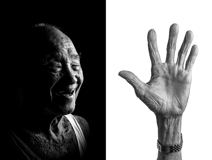 Ng Ee Bak, 89, came to Singapore from Malaysia to escaped the Japanese during WWII at the age of 10. He made a living as a fisherman when he first arrived in Singapore. Later he worked in the construction during the public housing developing for 60 years. Once in his 60s, he fell from third floor of a construction site but miraculously he was unharmed and he continued his work. After construction he decide to be a hawker selling noodles.