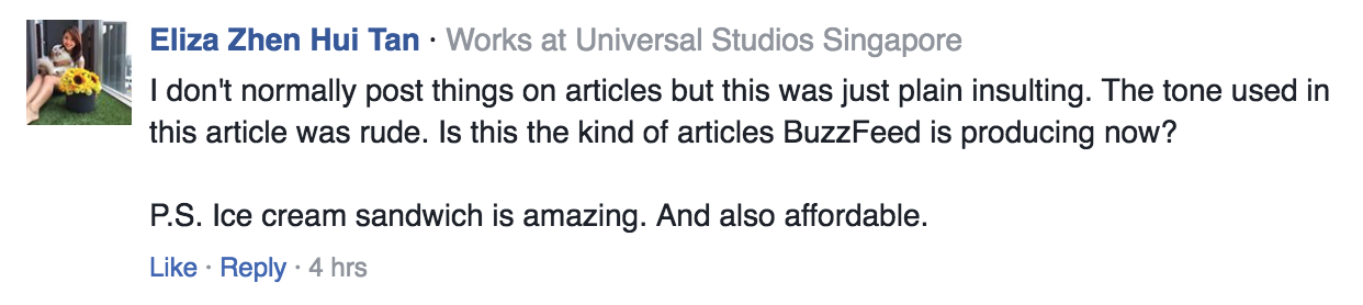 Screenshot from Buzzfeed