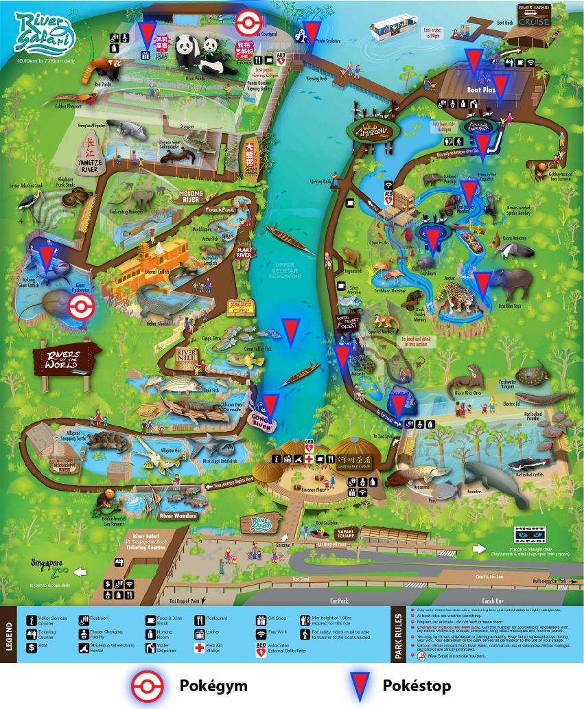 Map courtesy of Wildlife Reserves Singapore