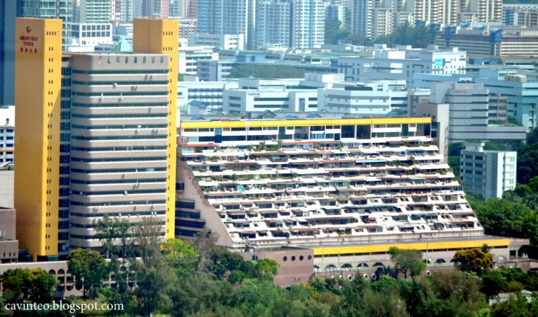 Back view of Golden Mile Complex. Source