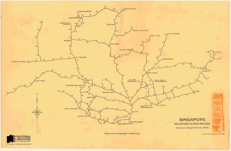 Mileage map. Source.