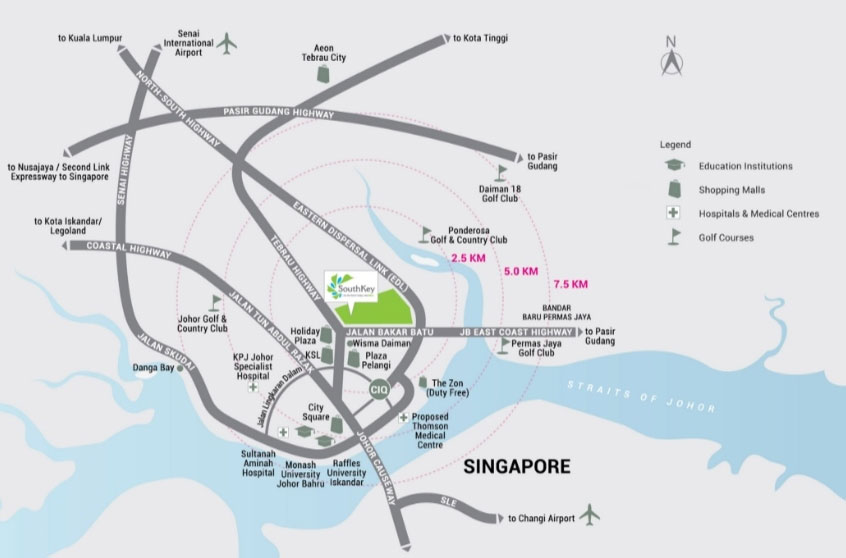 midvalley-southkey-megamall-location
