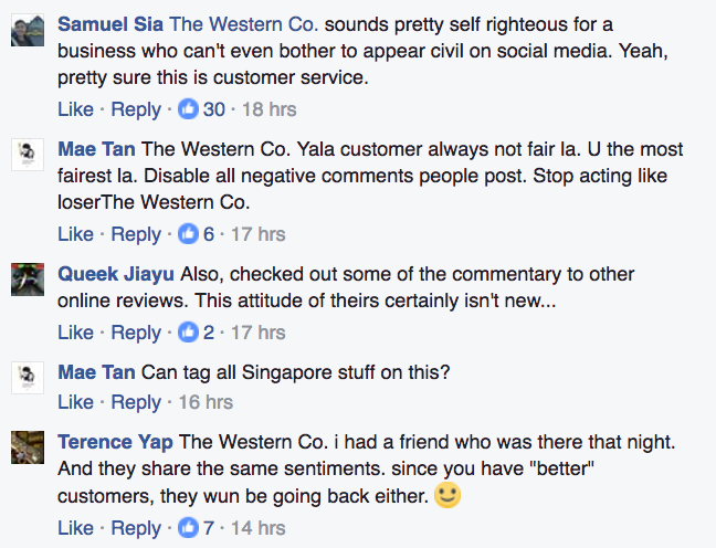 Screenshot from Andy Wong's Facebook post