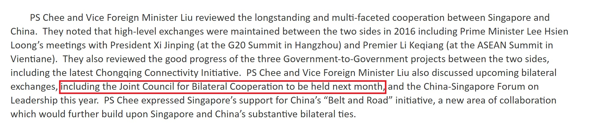 Source: Ministry of Foreign Affairs website.