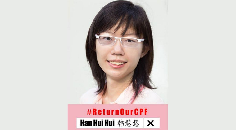 Han Hui Hui told to apologise for, remove false online
