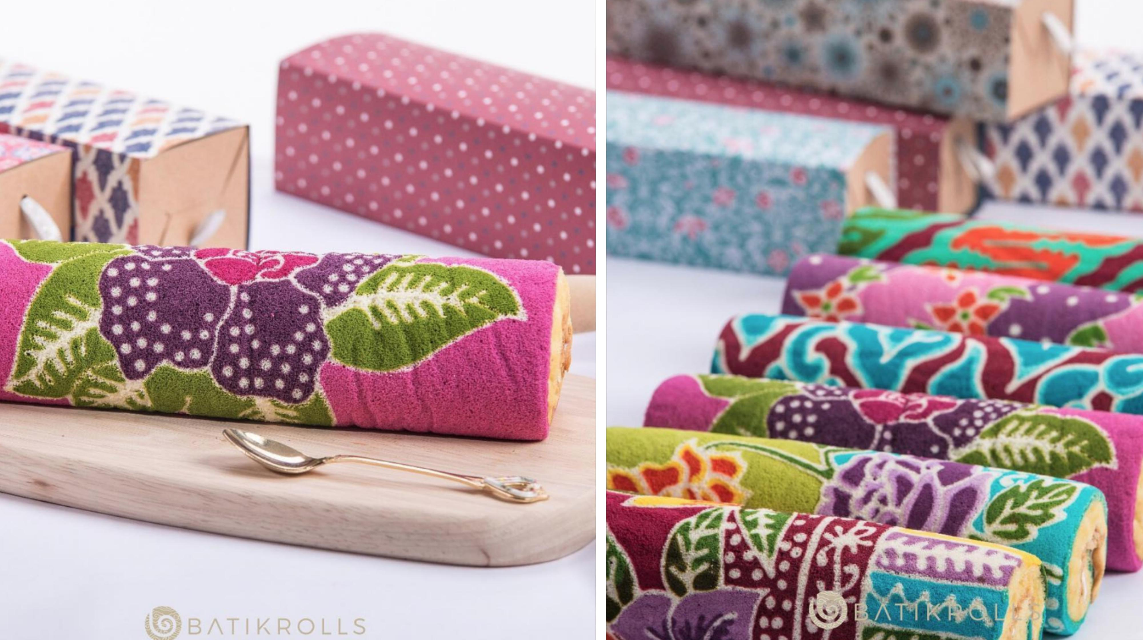 Batik Swiss Rolls From Home Baker In S Pore Look Like Real Fabric Mothership Sg News From Singapore Asia And Around The World