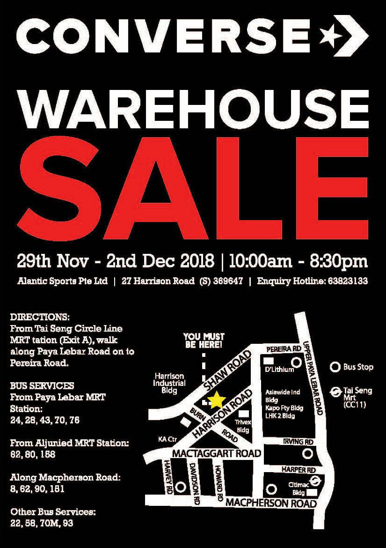 warehouse shoe sale converse