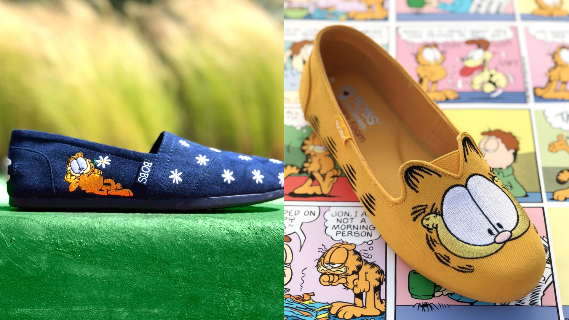 Skechers launches Garfield collection