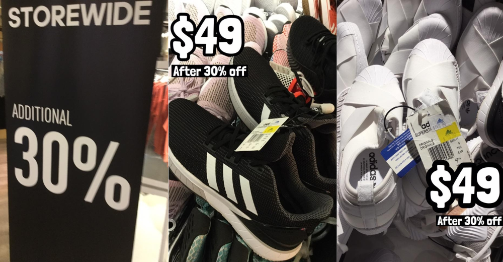 Adidas factory outlet at Velocity
