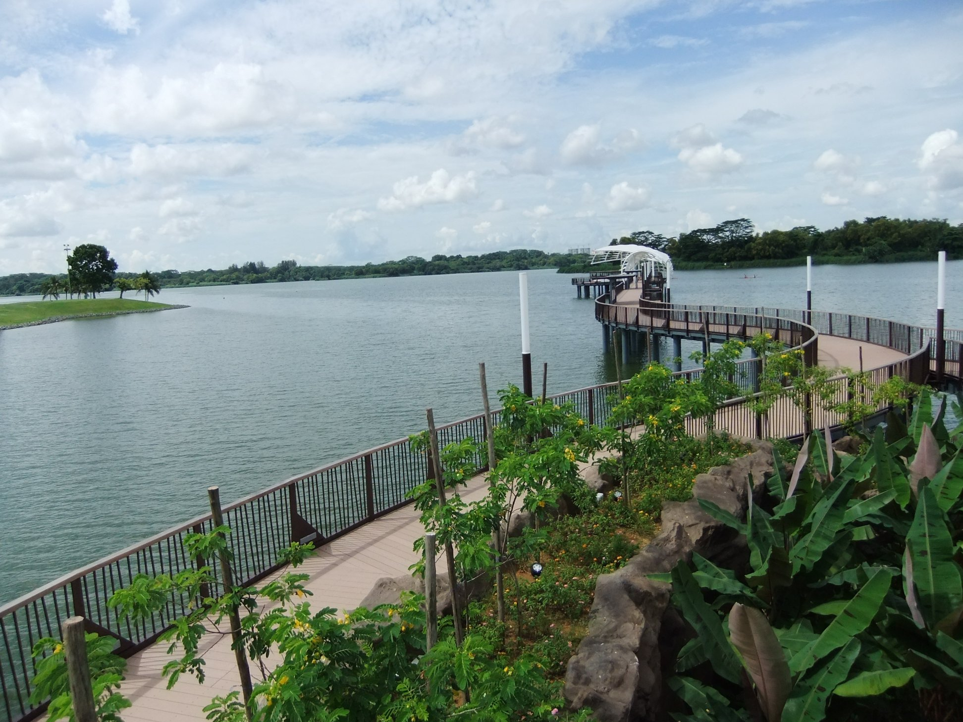 New park loop at Lower Seletar Reservoir will connect Yishun Dam ...