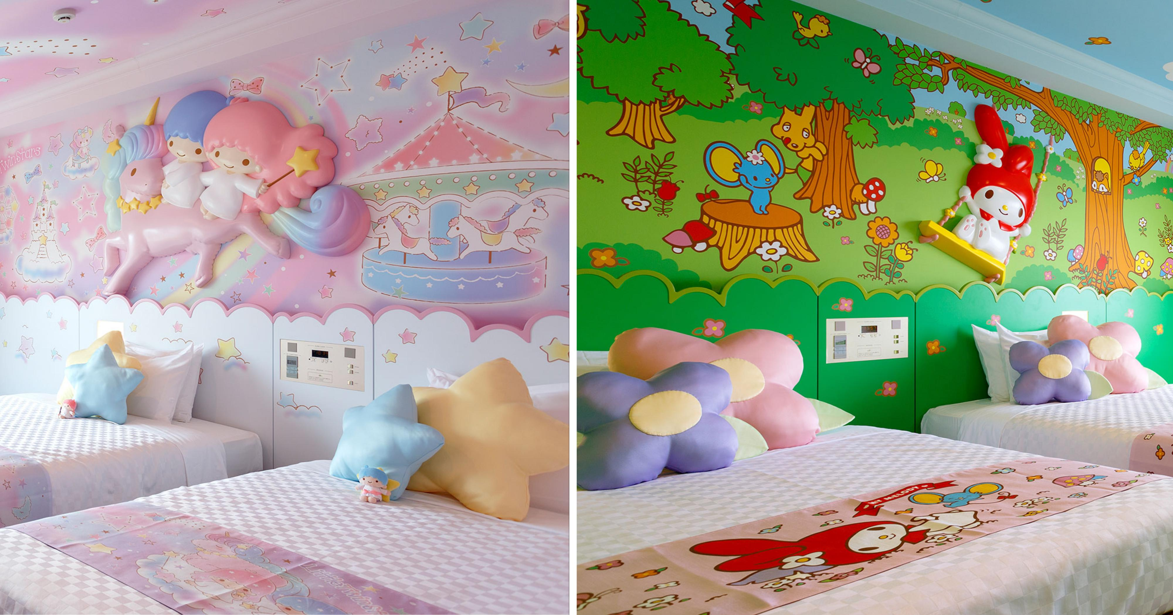 Tokyo Hotel Has My Melody Little Twin Stars Hello Kitty Themed Rooms Mothership Sg News From Singapore Asia And Around The World