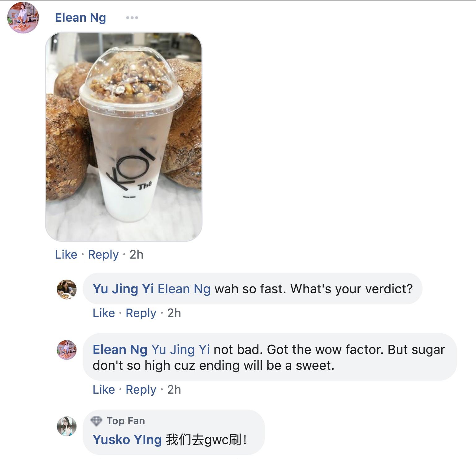 KOI S'pore Collaborates With Garrett Popcorn To Launch Tea