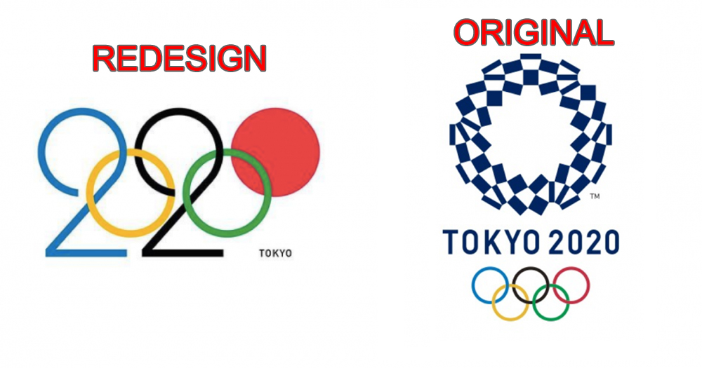 This Tokyo 2020 Olympic Games Logo Isn T Official But We Wish It Was Mothership Sg News From Singapore Asia And Around The World