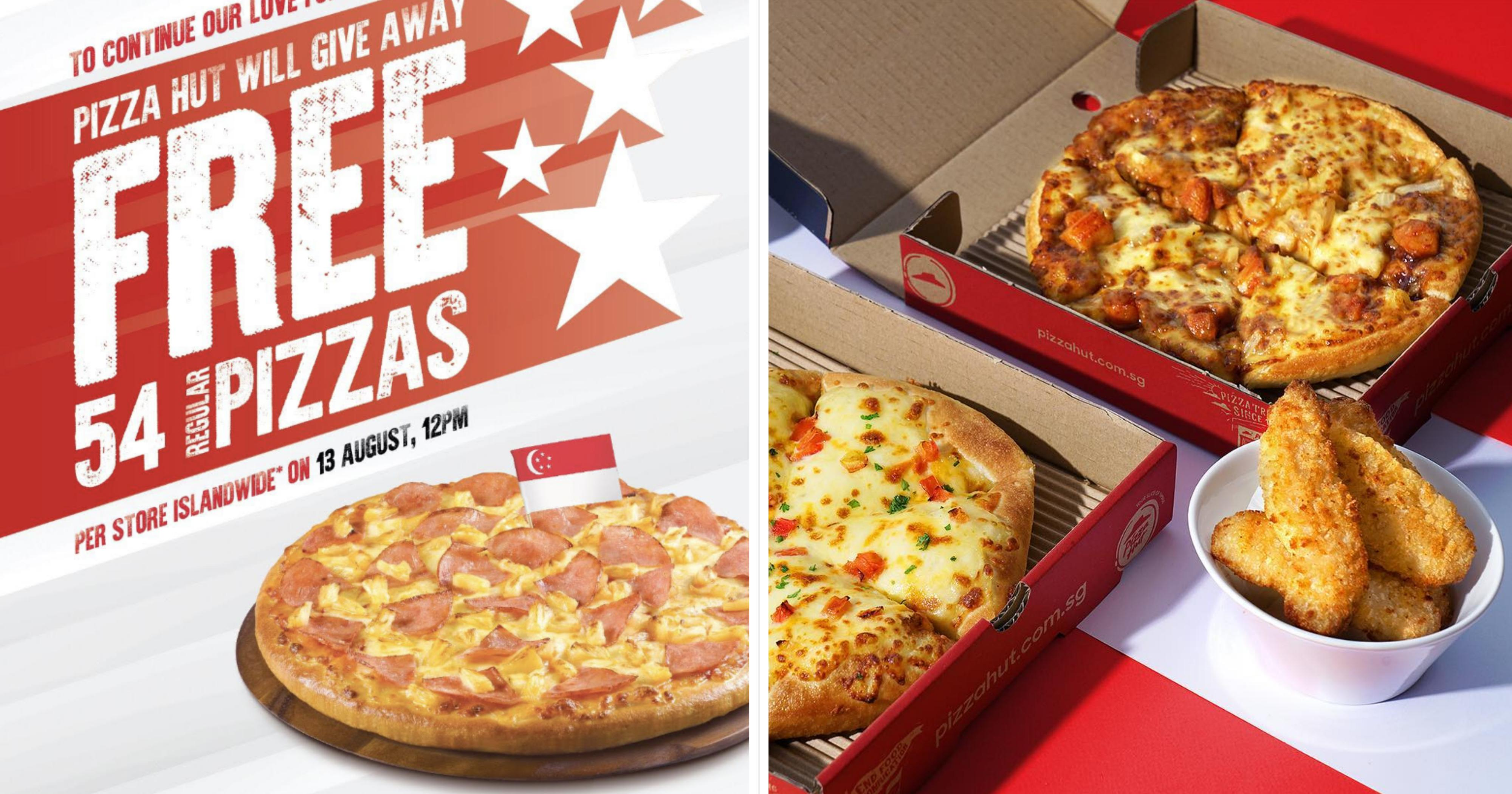 Pizza Hut S Pore Giving Away 54 Free Hawaiian Pan Pizzas Per Outlet On Aug 13 2019 Mothership Sg News From Singapore Asia And Around The World