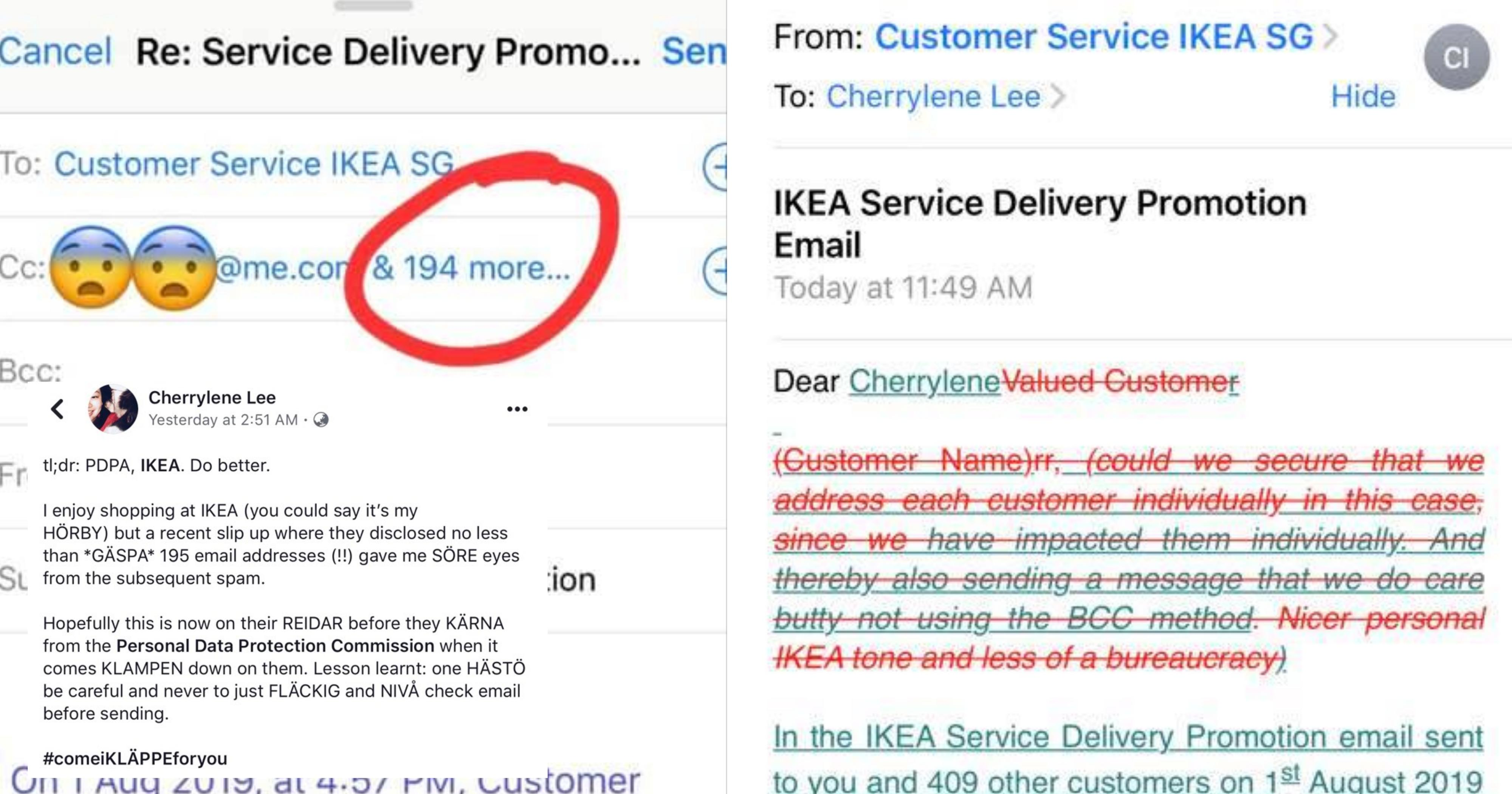 Ikea S Pore Allegedly Leaked 195 Email Addresses Best Part The Follow Up Apology Mothership Sg News From Singapore Asia And Around The World,Diy Gifts For Friends Going To College