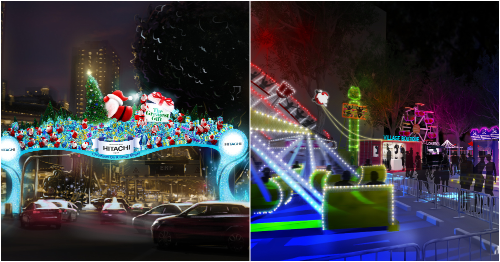 Singapore Christmas Lights 2020 It's Sep. 2019 & Orchard Road Christmas light up going up, to last