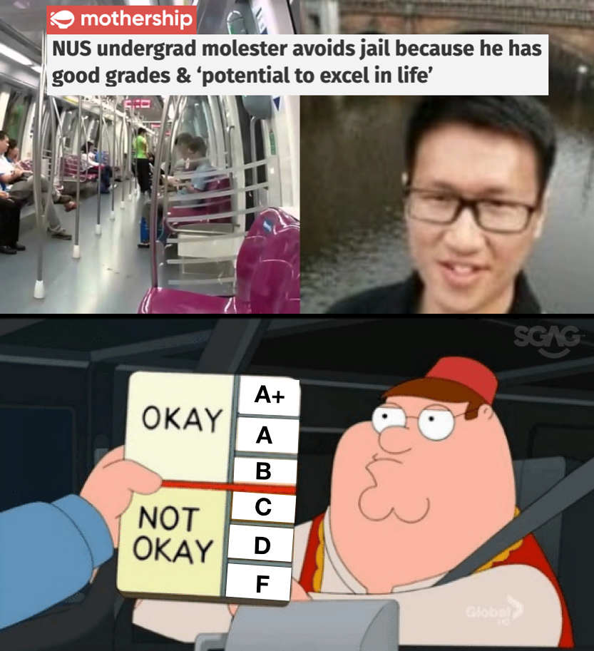 S Poreans Make Dank Memes Of Nus Undergrad Molester With Good