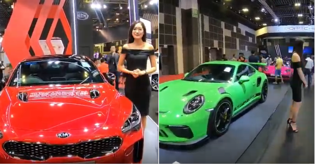 S Pore Car Show Girls Share What It S Like To Encounter Seedy Dudes On The Job Mothership Sg News From Singapore Asia And Around The World