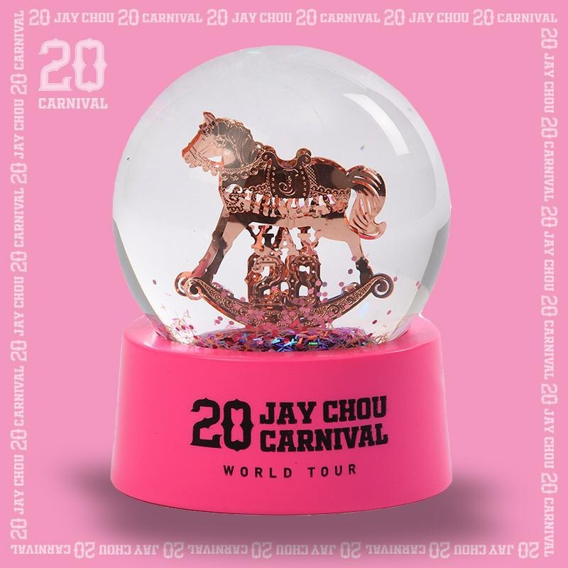 Jay 20 crystal ball in pink