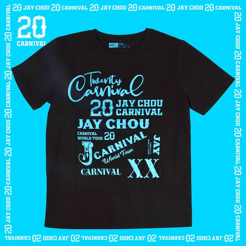 Jay 20 tee shirt in black