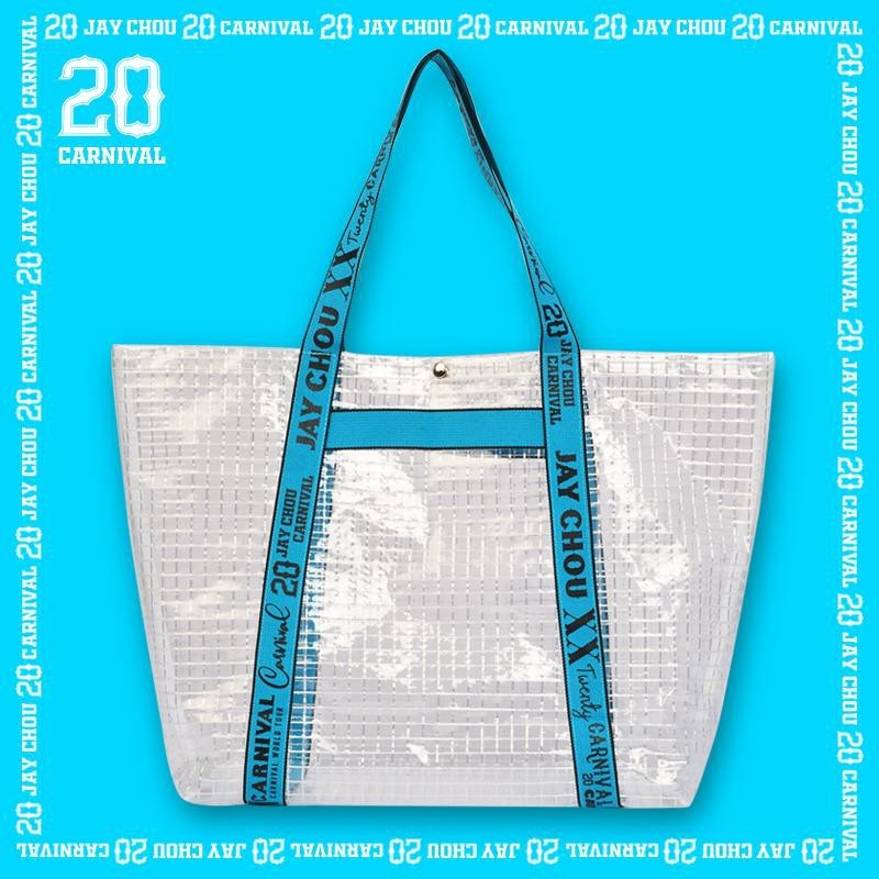 Jay 20 tote bag in blue