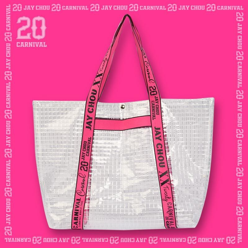 Jay 20 tote bag in pink