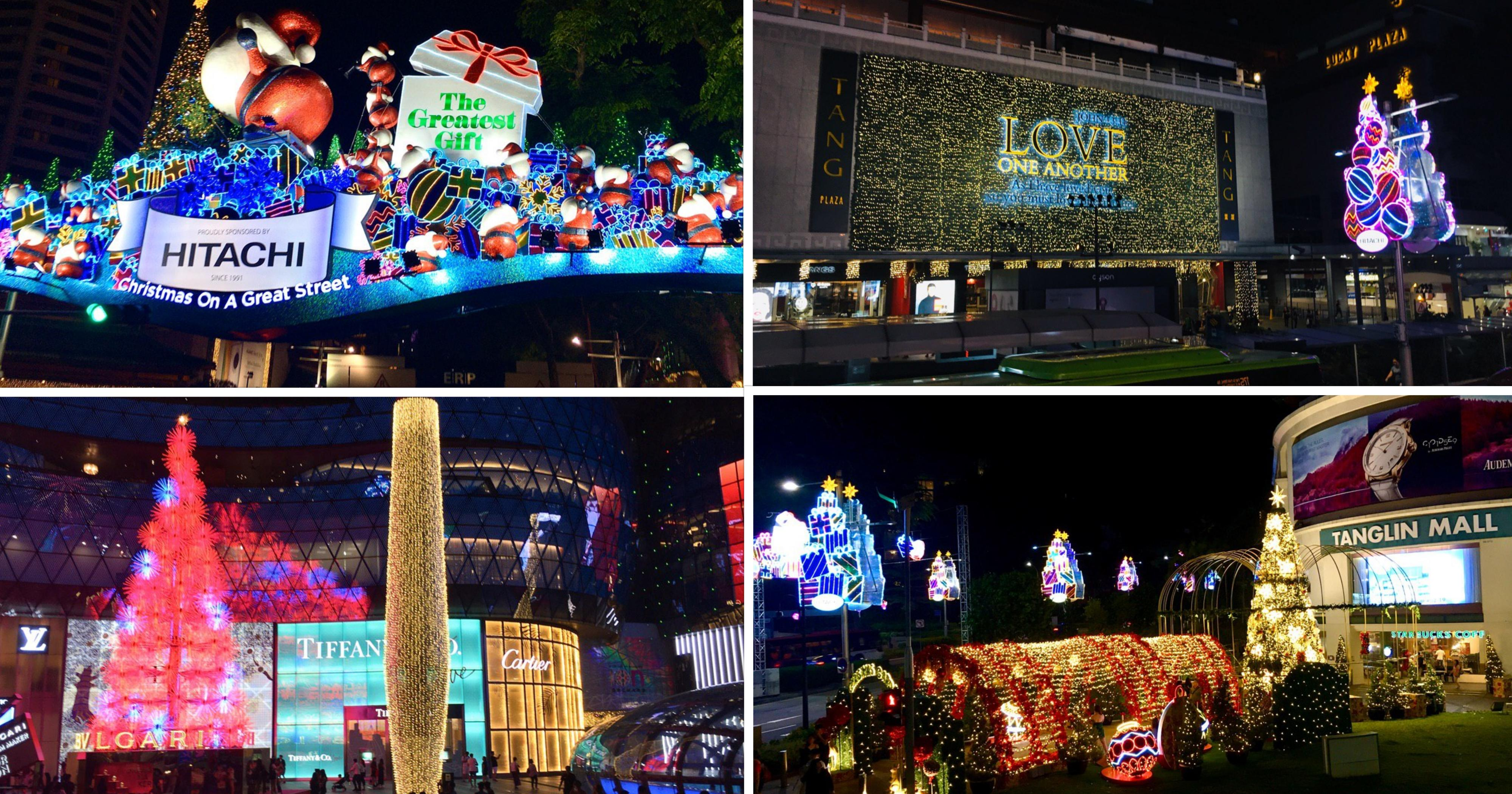 Singapore Christmas Lights 2020 First look at Orchard Road's Christmas light up from Nov. 16, 2019