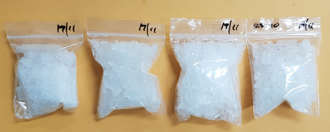 'ice' drug packets found in Yishun flat