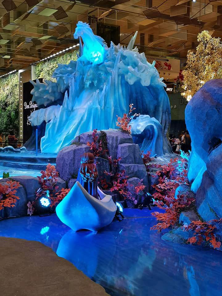 Changi Airport Frozen 2 exhibit