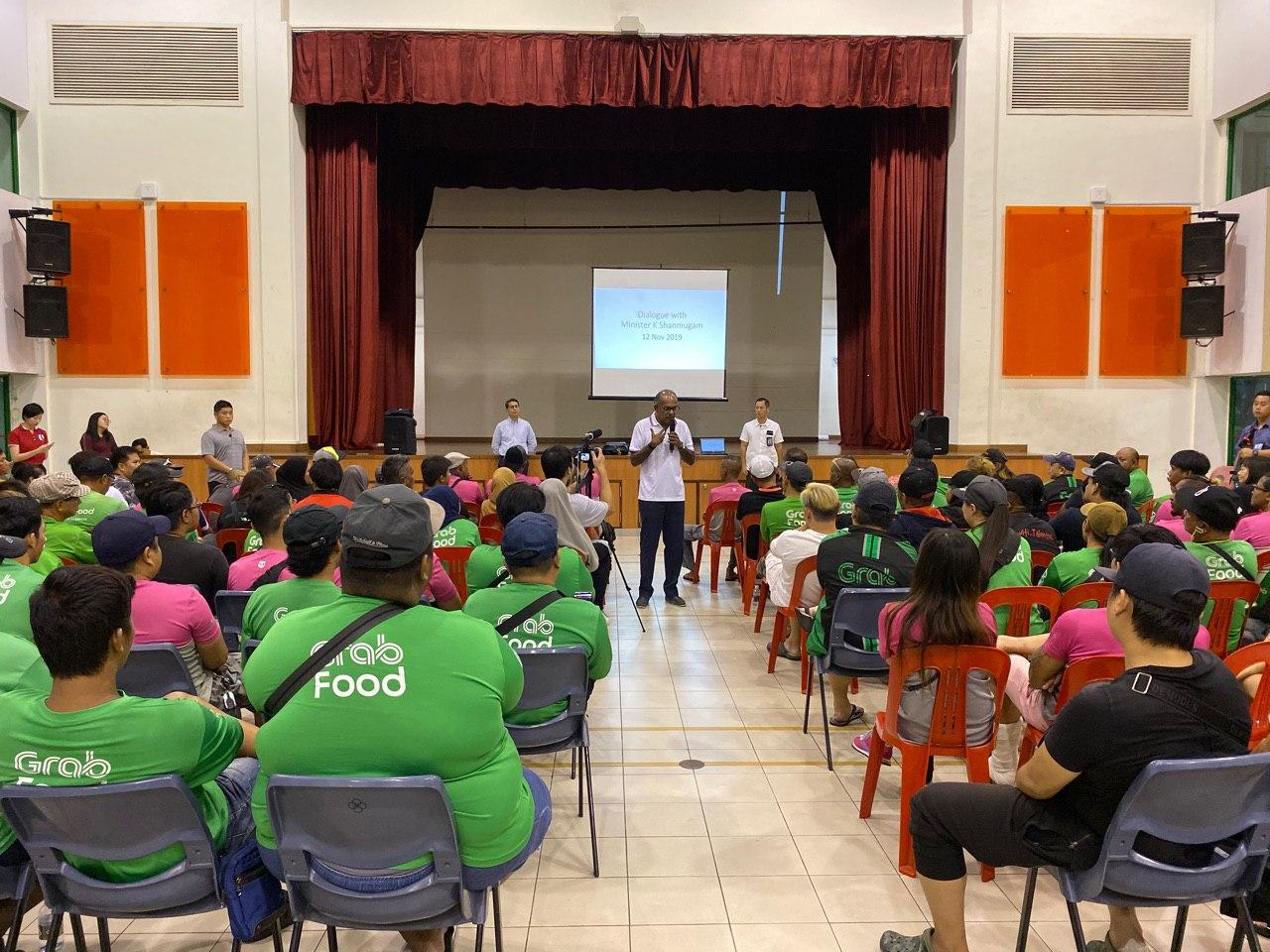pmd shanmugam dialogue yishun