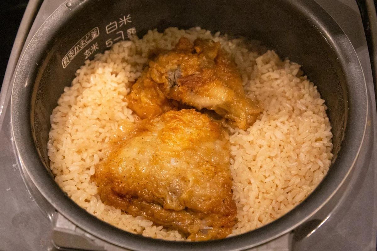 KFC chicken rice