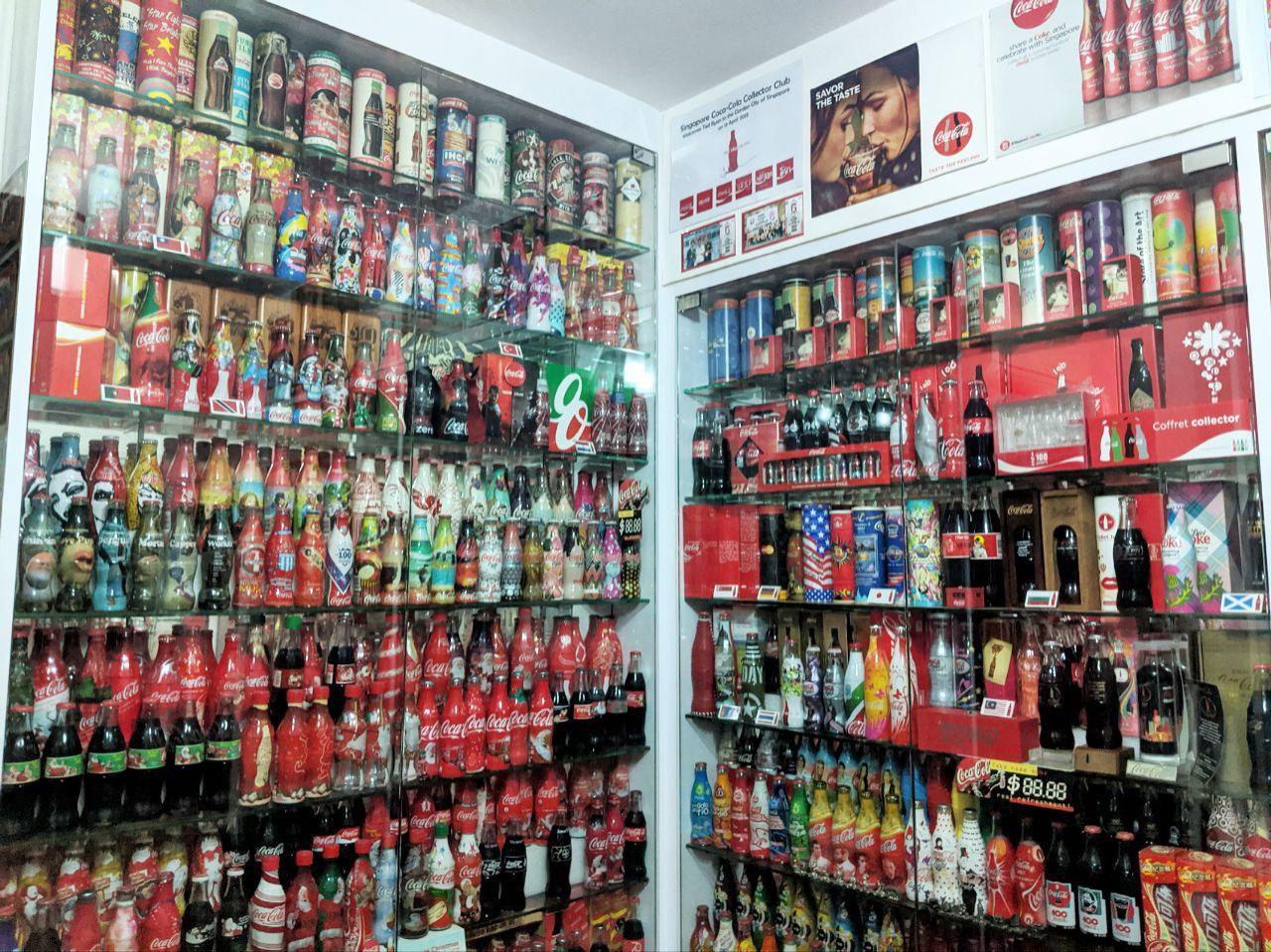 coke collector cabinet