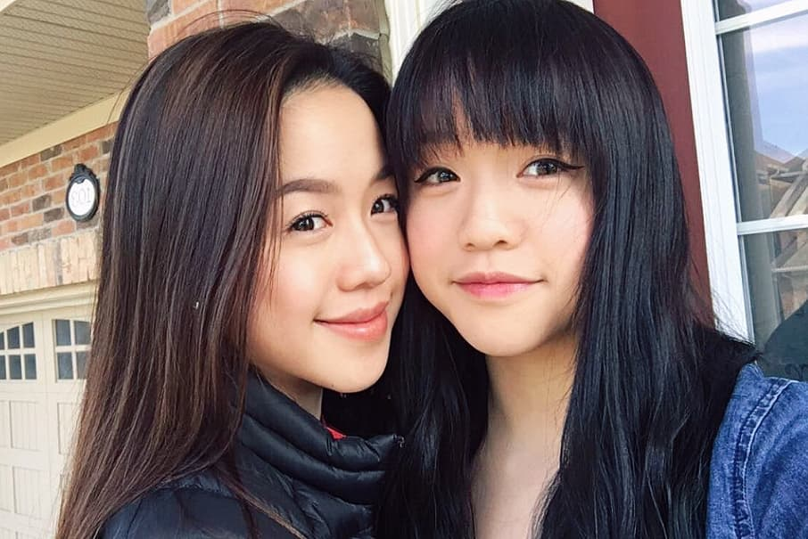 image of Chloe Ing and her twin sister Chantelle