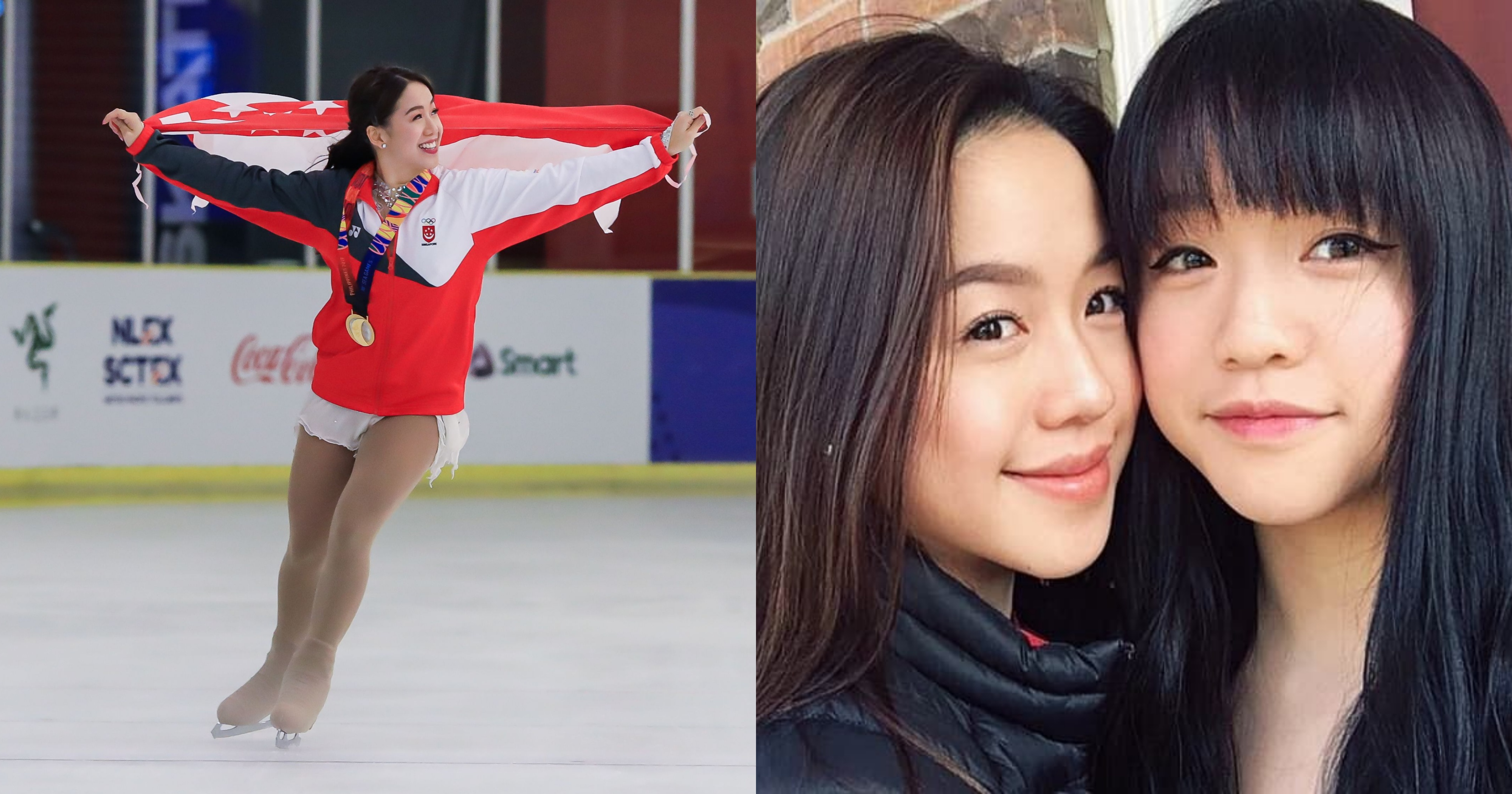 S Pore Figure Skater Chloe Ing Has 2 Part Time Jobs To Pay For Training But Shares Olympic Dream With Her Twin Sister Mothership Sg News From Singapore Asia And Around The World