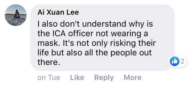 ICA face masks