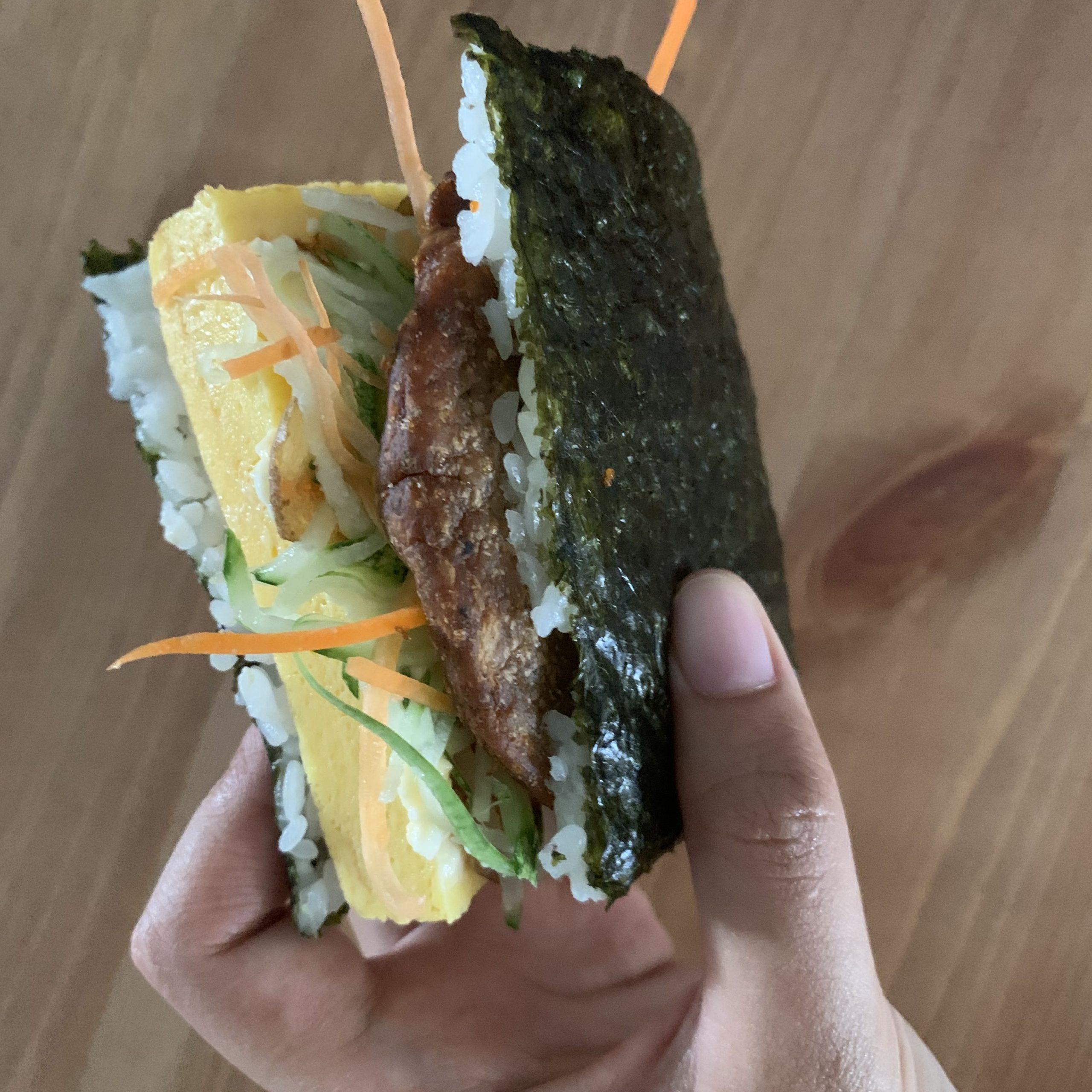 photo of what makisan breakfast sandwich looks like