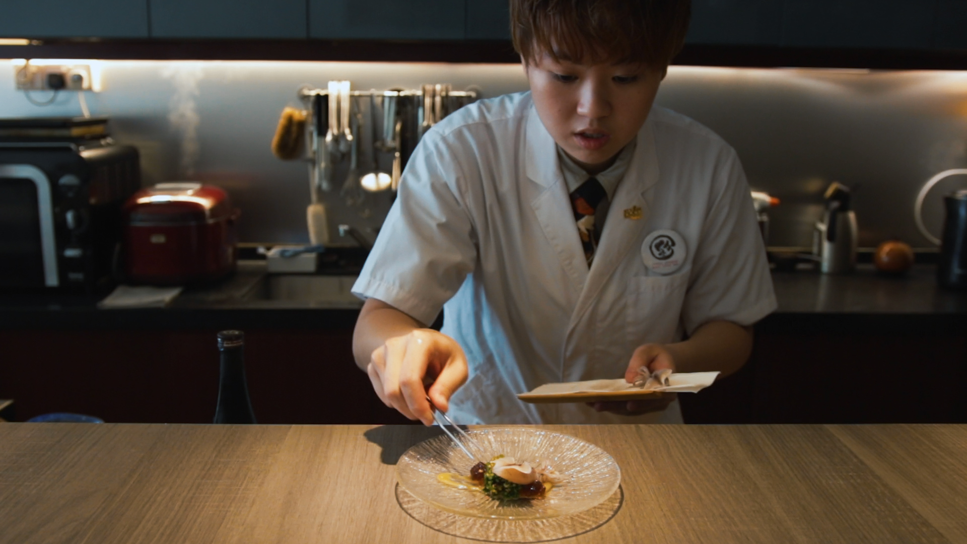 Busting Stereotypes to Become Singapore's First Female Omakase Bar Chef-Owner