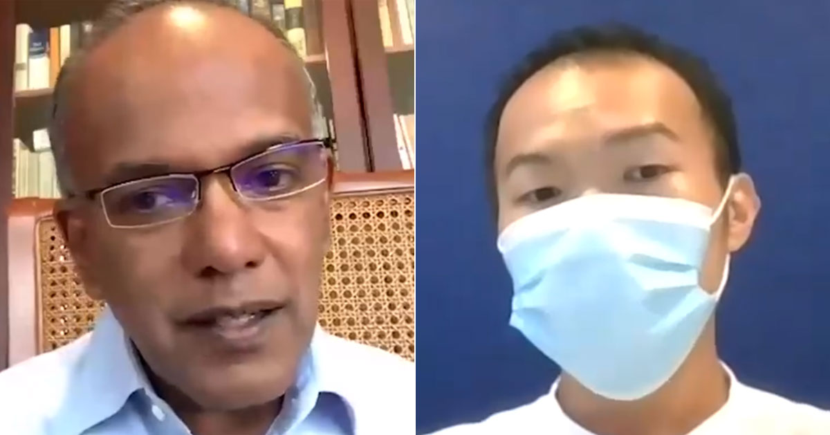 Shanmugam Slams Zaobao Forum Letter On Foreign Workers As Racist Xenophobic Mothership Sg News From Singapore Asia And Around The World