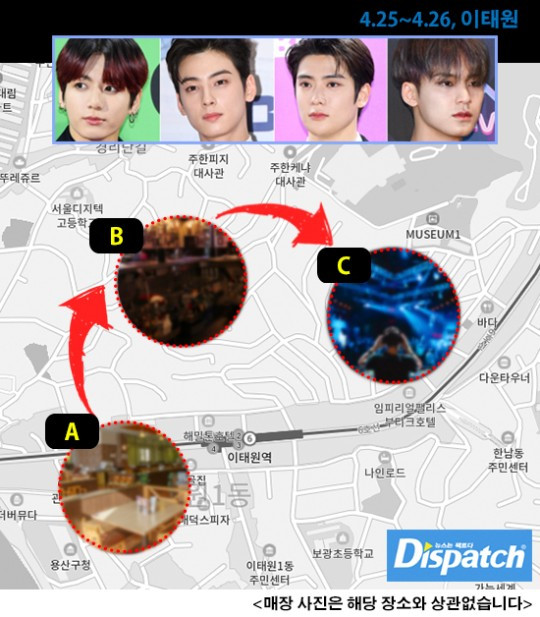 K Pop Idols Including Bts S Jungkook Spotted At Itaewon A Week Before South Korea S Spike In Covid 19 Cases Mothership Sg News From Singapore Asia And Around The World