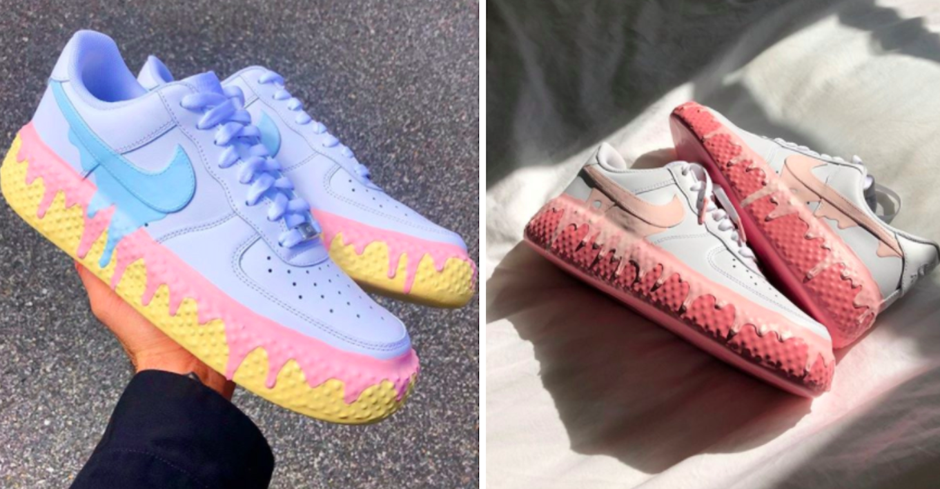 Nike Air Force 1s to immense success