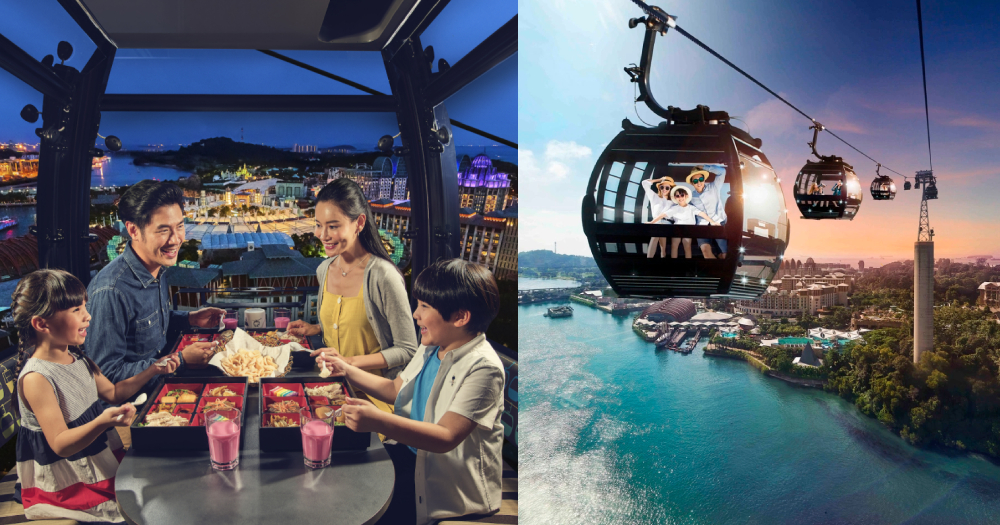 You Can Dine In A Private Cable Car At Mount Faber From 55 Per Pax Mothership Sg News From Singapore Asia And Around The World
