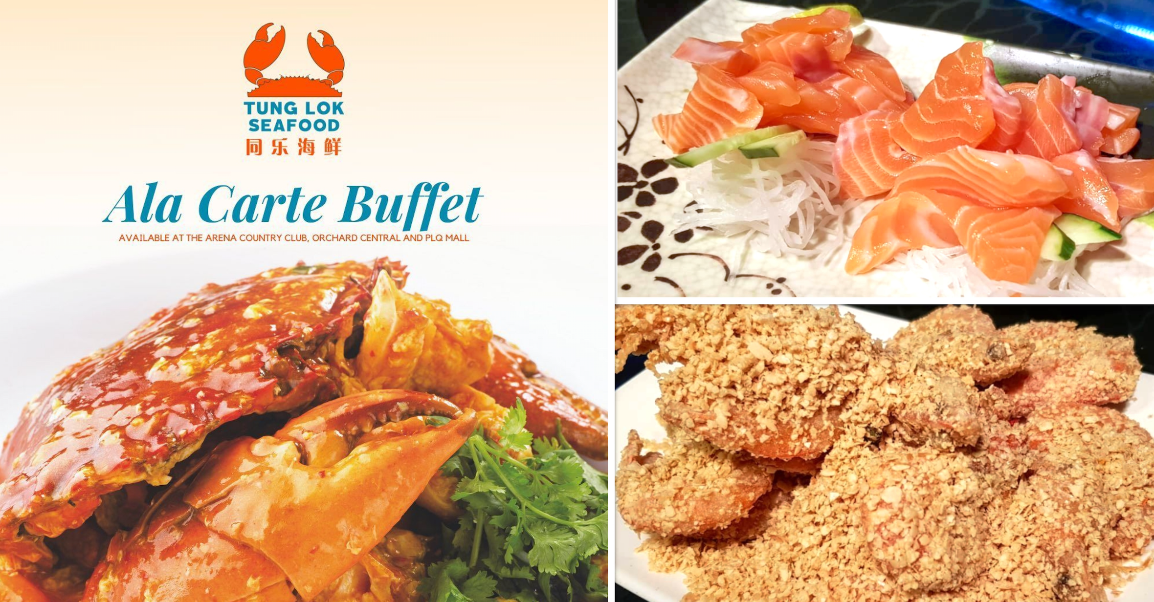 Tung Lok Seafood Launches A La Carte Buffet From S 28 80 Includes Salmon Sashimi Mothership Sg News From Singapore Asia And Around The World