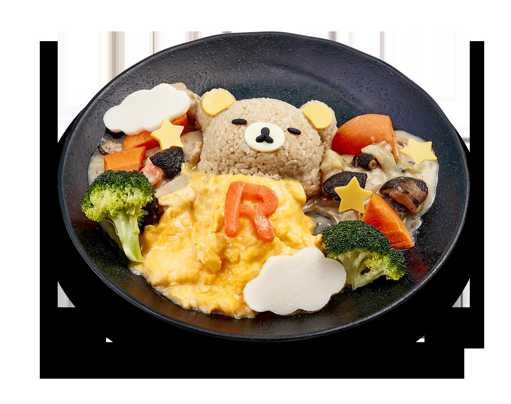 懶懶熊主題快閃咖啡廳將在新加坡開辦! Chocken_stew_rice