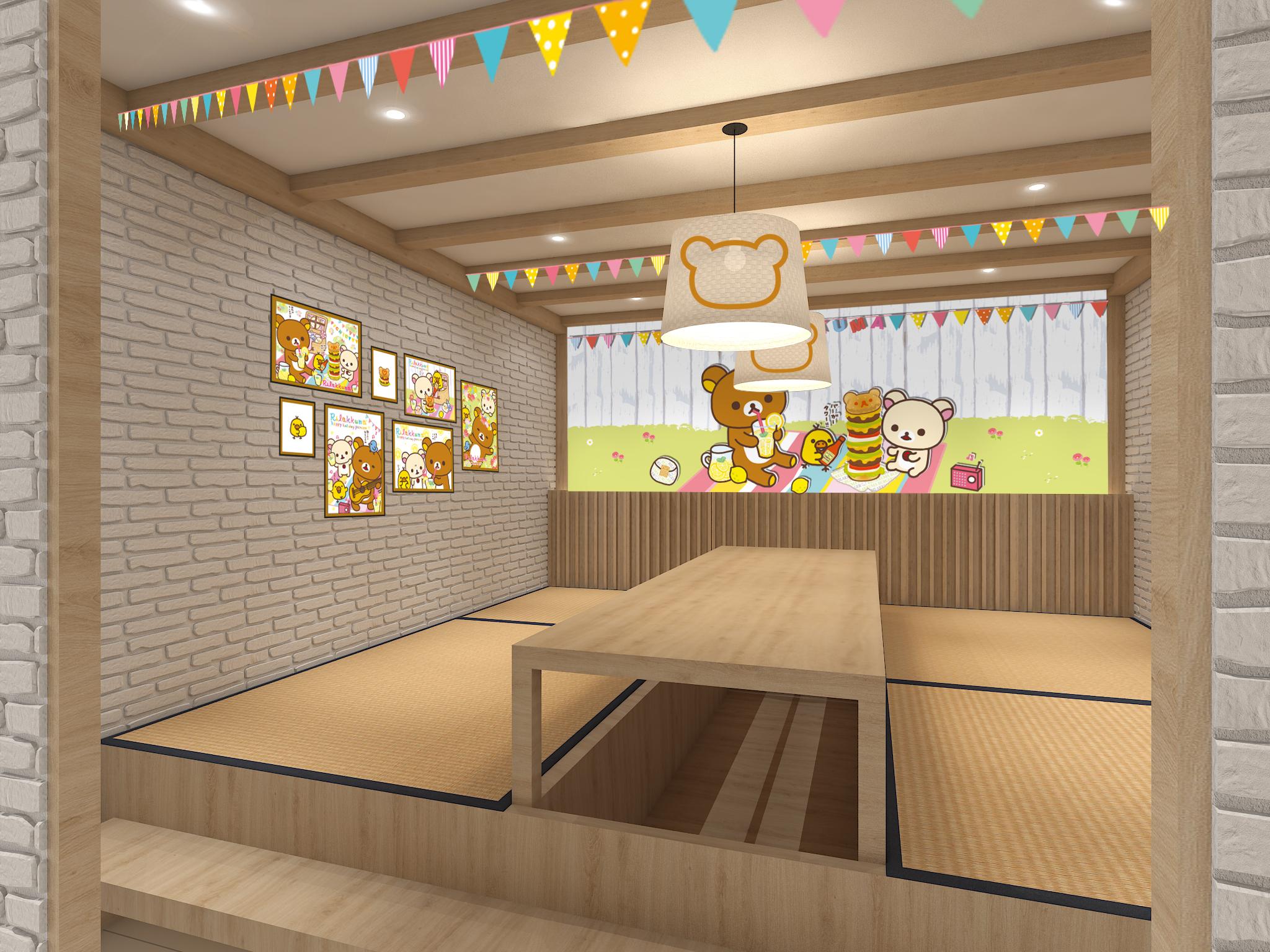 懶懶熊主題快閃咖啡廳將在新加坡開辦! Private_room_2