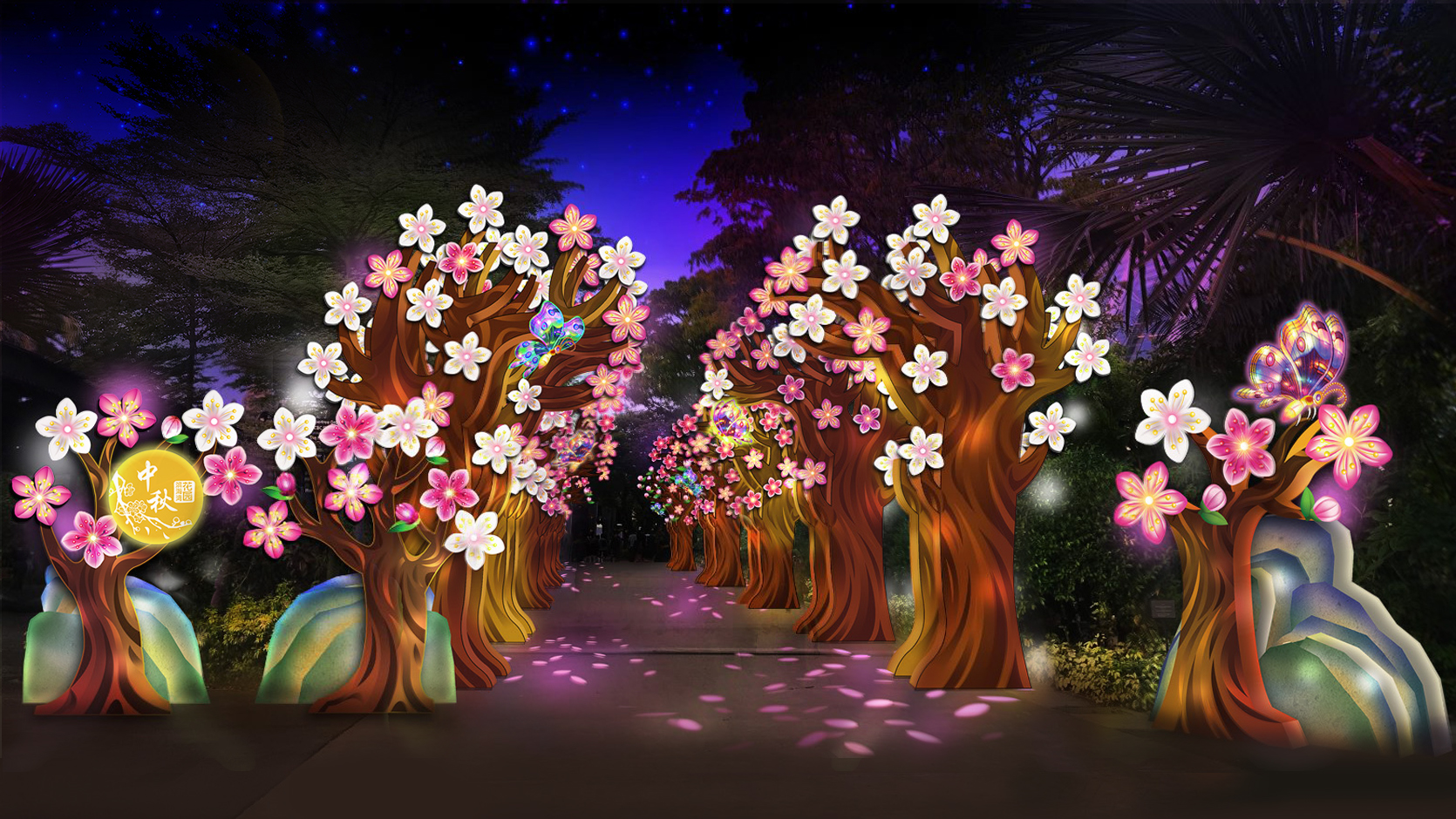 Virtual previews of mid-autumn lanterns & online performances at Gardens by the Bay from Sep. 18 to Oct. 4