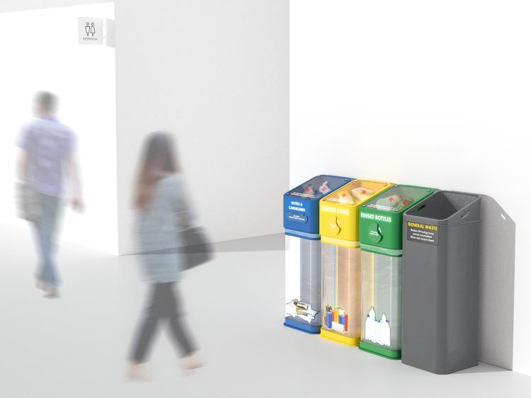 photo of tommy cheong recycle right bin
