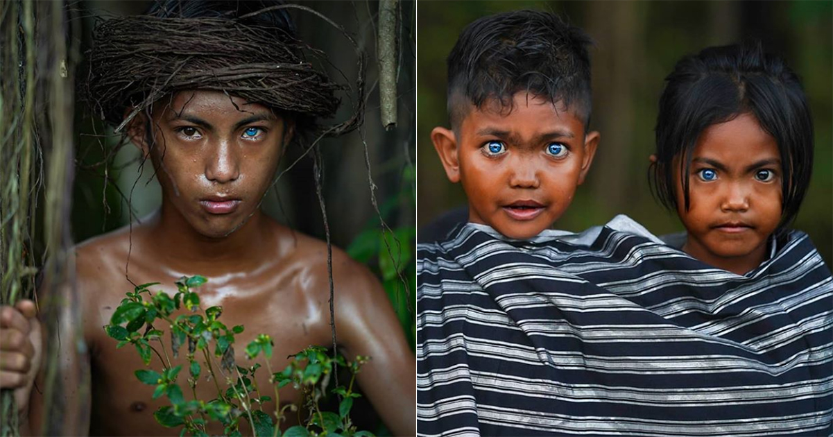 Photographer Documents Indonesian Tribe Whose People Have Blue Eyes Mothership Sg News From Singapore Asia And Around The World