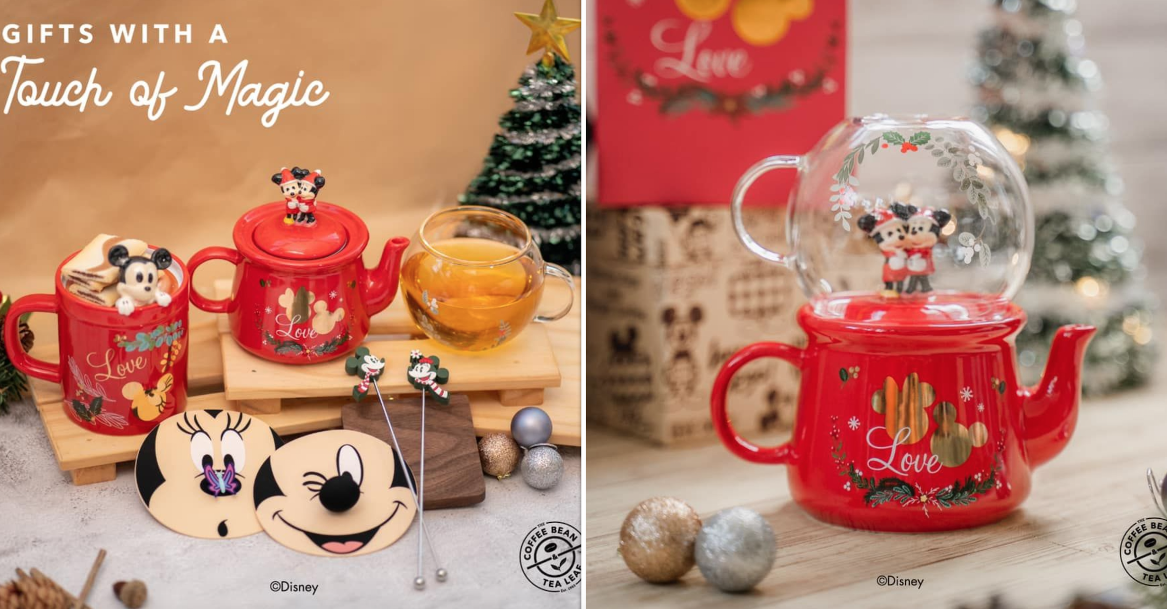 Coffee Bean S Pore Launches Mickey Minnie Drink Ware For Christmas 2020 Mothership Sg News From Singapore Asia And Around The World